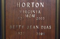 Virginia Horton