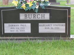 Margaret <i>Stafford</i> Burch