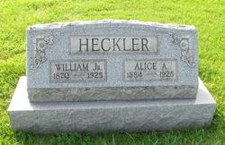 Alice <i>Albright</i> Heckler