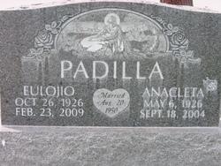 Anacleta <i>Cobos</i> Padilla