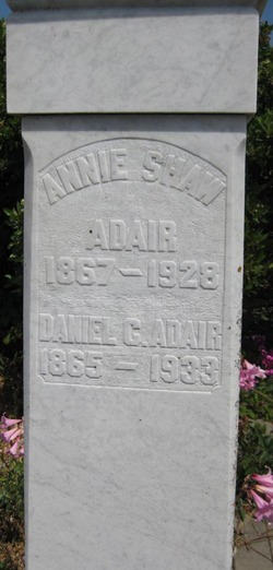 Annie <i>Shaw</i> Adair