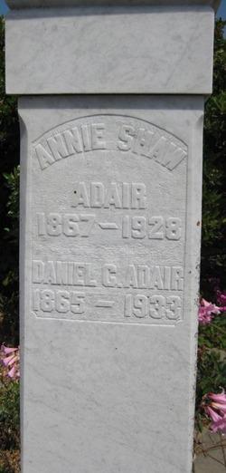 Daniel C Adair