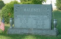 LTC David John Maloney, Sr