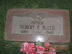 Albert F Allen