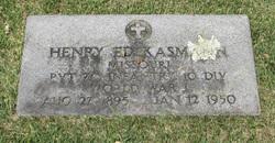 Henry Edward Kasmann