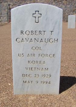 Col Robert T Cavanaugh