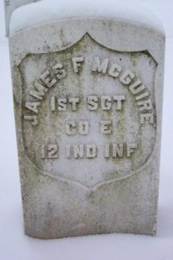 Pvt James F McGuire