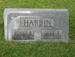Lillie B Harbin