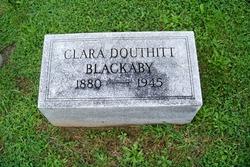 Clara Kelly <i>Douthitt</i> Blackaby
