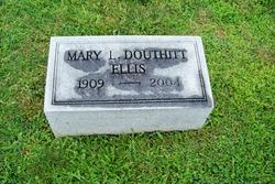 Mary L. <i>Douthitt</i> Ellis