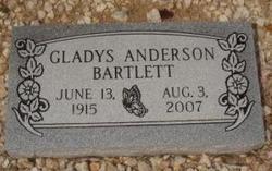 Gladys <i>Anderson</i> Bartlett