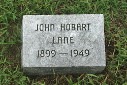 John Hobart Johnny LANE