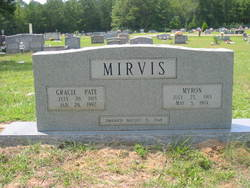 Gracie Juanita Gracie <i>Pate</i> Mirvis