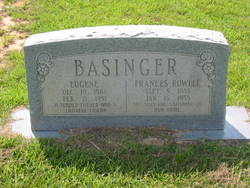 Frances C. <i>Rowell</i> Basinger