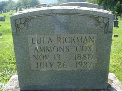 Lula <i>Rickman</i> Ammons/Cox