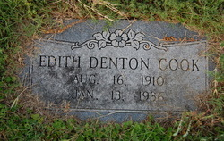 Edith M. <i>Denton</i> Cook