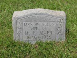 Willie Dillie <i>Crumpler</i> Allen