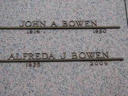 Alfreda Jean <i>Fisher</i> Bowen