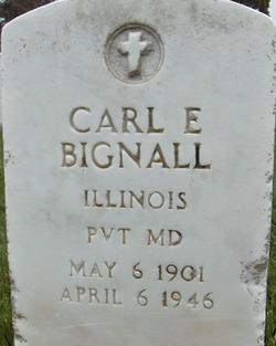 Carl Eugene Bignall