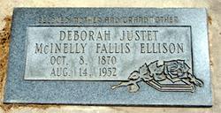 Deborah <i>Justet</i> Ellison