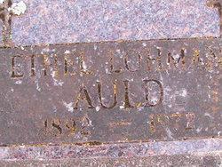 Ethel Belle <i>Lohman</i> Auld
