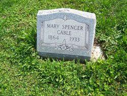 Mary Virginia <i>Spencer</i> Cable