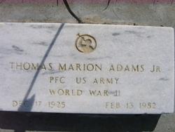 Thomas Marion Jr. Adams