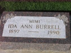 Ida Ann Mimi <i>Chapman</i> Burrell