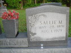 Sallie M Watson