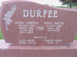 Arden Norton Durfee