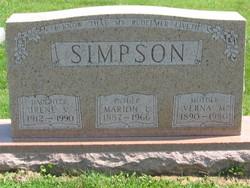 Verna May <i>Ashby</i> Simpson