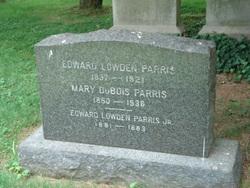 Mary Ida <i>DuBois</i> Parris