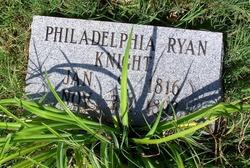 Philadelphia Delphia <i>Ryan</i> Knight