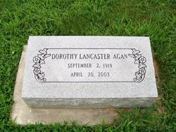 Dorothy <i>Lancaster</i> Agan