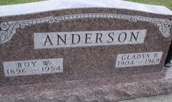 Gladys Blossom <i>McDowell</i> Anderson