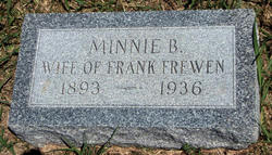 Minnie Bell <i>Betts</i> Frewen
