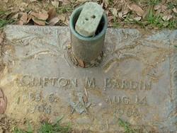 Clifton Marvin Bardin