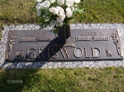 Alice Hillyer <i>Lockett</i> Griswold
