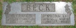 Vera K <i>Hutson</i> Beck