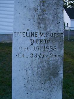 Emeline M Morse