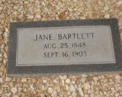 Jane <i>Smith</i> Bartlett