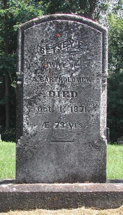 Betsey E. <i>Hawley</i> Bartholomew