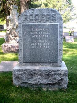 Louisa M. <i>Alford</i> Rogers