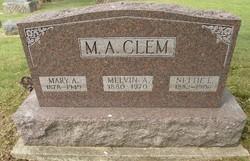 Mary A. <i>Miller</i> Clem