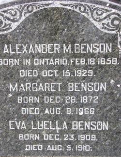 Eva Luella Blanche Benson