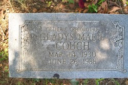 Gladys Marie Couch