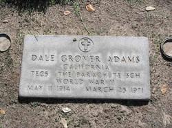 Dale Grover Adams