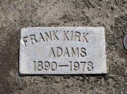 Frank Kirk Adams