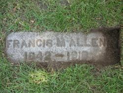 Pvt Francis M Allen