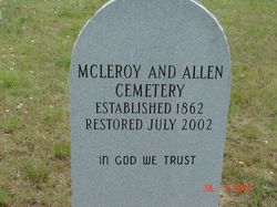 McLeroy and Allen Cemetery